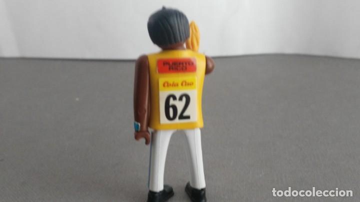 Figuras de acción: ANTIGUA FIGURA DE MINI AIRGAM BOYS OLIMPICO COLA CAO PUERTO RICO CON ANTORCHA - Foto 3 - 137983938