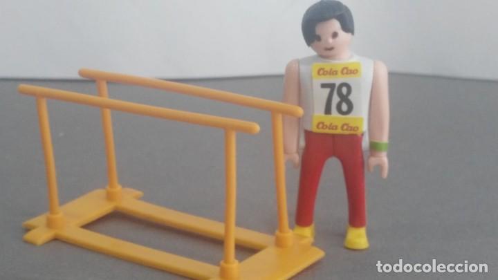 ANTIGUA FIGURA DE MINI AIRGAM BOYS OLIMPICO COLA CAO BRASIL CON BARRAS (Juguetes - Figuras de Acción - Otras Figuras de Acción)