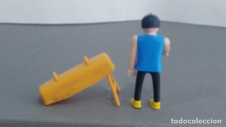 Figuras de acción: ANTIGUA FIGURA DE MINI AIRGAM BOYS OLIMPICO COLA CAO CON POTRO - Foto 2 - 137988938
