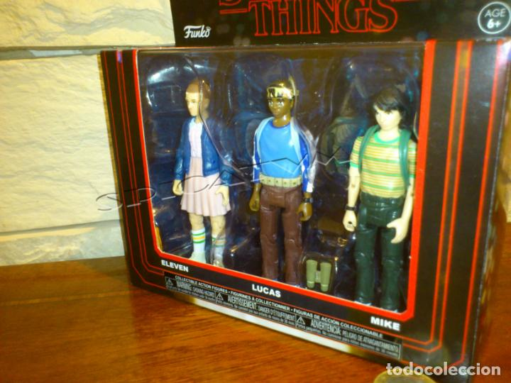 Stranger Things Pack 1 Lucas Mike and Eleven Netflix Set Action Figures Funko