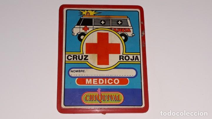 Cruz Medico Chapa Carnet Chiquival GuisvalAntigua Set 70 Años 80 Roja QWeCxdBoEr