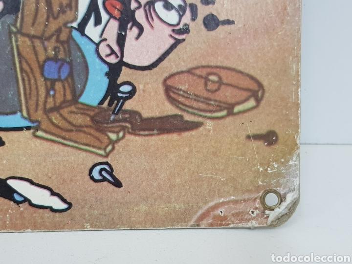 Figuras de acción: Lámina cartón tercer festival Mortadelo y Filemón el armario del tiempo Isidoro Llorca s. A. 34x24cm - Foto 4 - 140392749