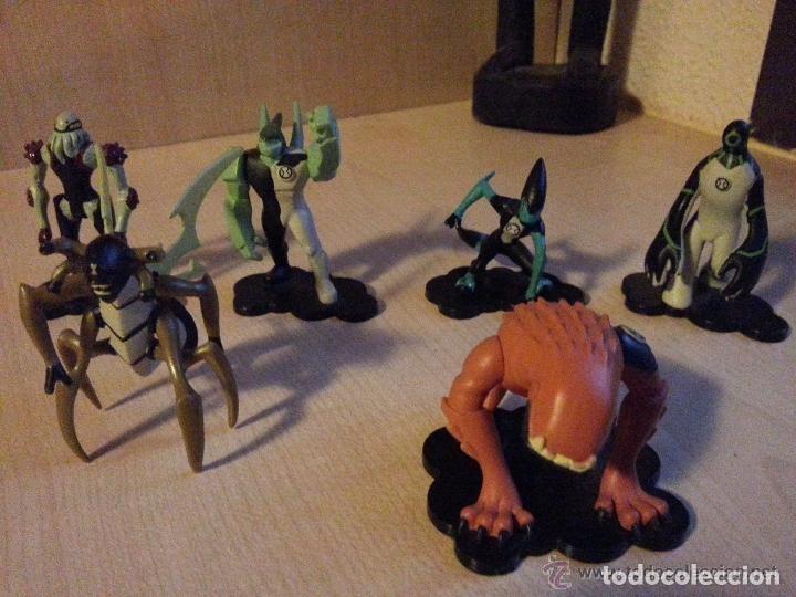 Figuras de acción: GRAN LOTE DE 18 Figuras BEN 10 - Ben - CN - MICROs - SERIE 1 COMPLETA - FIGURES GIOCHI PREZIOSI - Foto 4 - 140453630