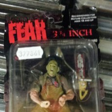 Figuras de acción: FIGURA DE ACCIÓN LEATHERFACE - LA MATANZA DE TEXAS - MEZCO TOYZ - CINEMA OF FEAR. Lote 140660350