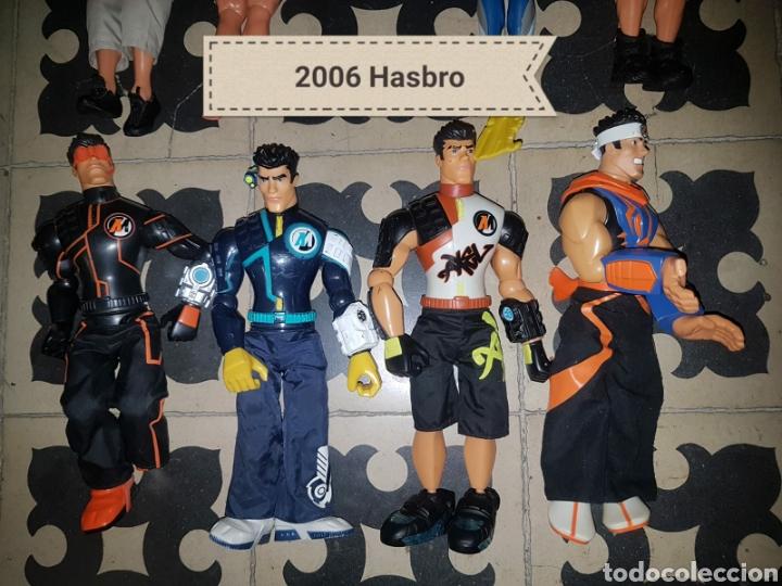 Figuras de acción: Lote 18 muñecos de acción Action Man Hasbro, Geyperman, Power Team (1998/2006) - Foto 2 - 178810285