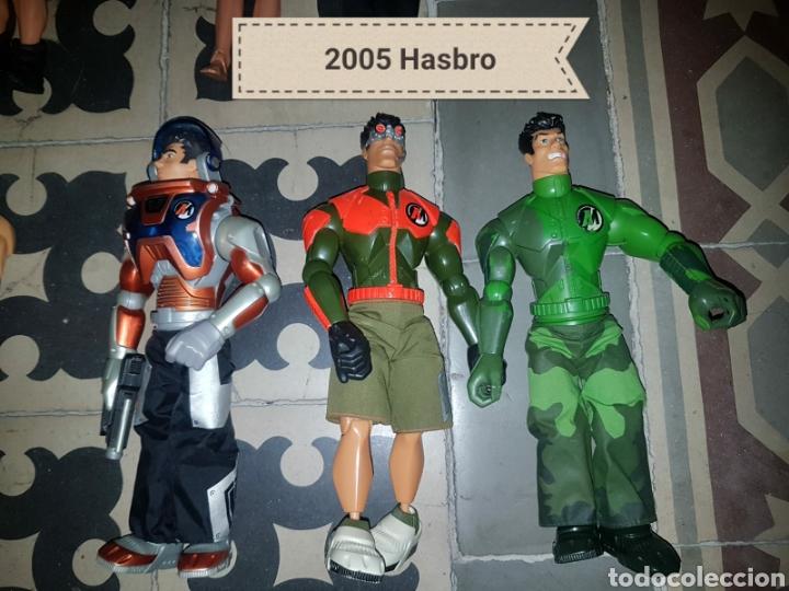 Figuras de acción: Lote 18 muñecos de acción Action Man Hasbro, Geyperman, Power Team (1998/2006) - Foto 4 - 178810285