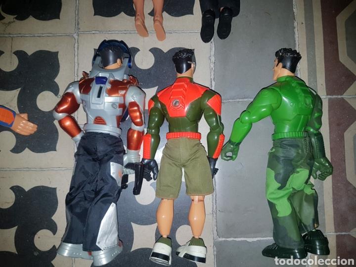 Figuras de acción: Lote 18 muñecos de acción Action Man Hasbro, Geyperman, Power Team (1998/2006) - Foto 5 - 178810285