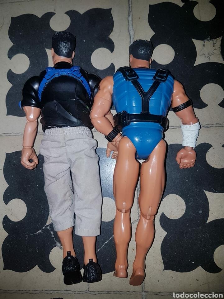 Figuras de acción: Lote 18 muñecos de acción Action Man Hasbro, Geyperman, Power Team (1998/2006) - Foto 7 - 178810285