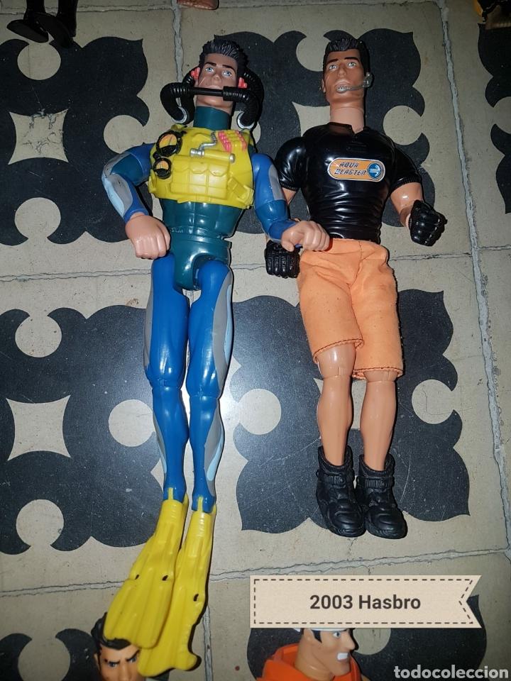 Figuras de acción: Lote 18 muñecos de acción Action Man Hasbro, Geyperman, Power Team (1998/2006) - Foto 8 - 178810285