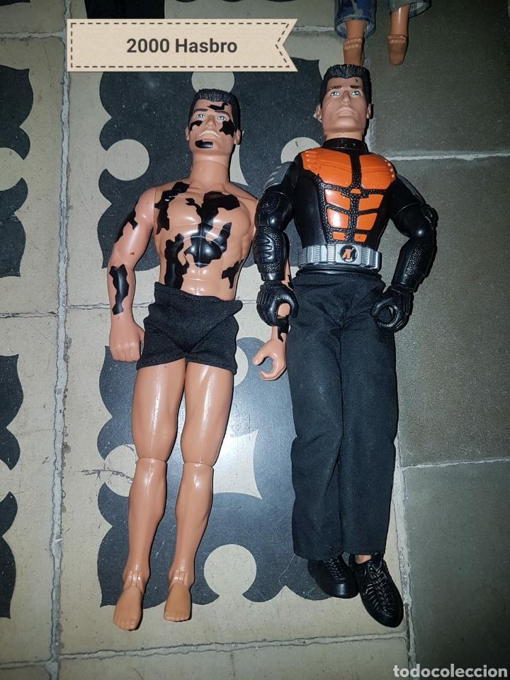 Figuras de acción: Lote 18 muñecos de acción Action Man Hasbro, Geyperman, Power Team (1998/2006) - Foto 10 - 178810285