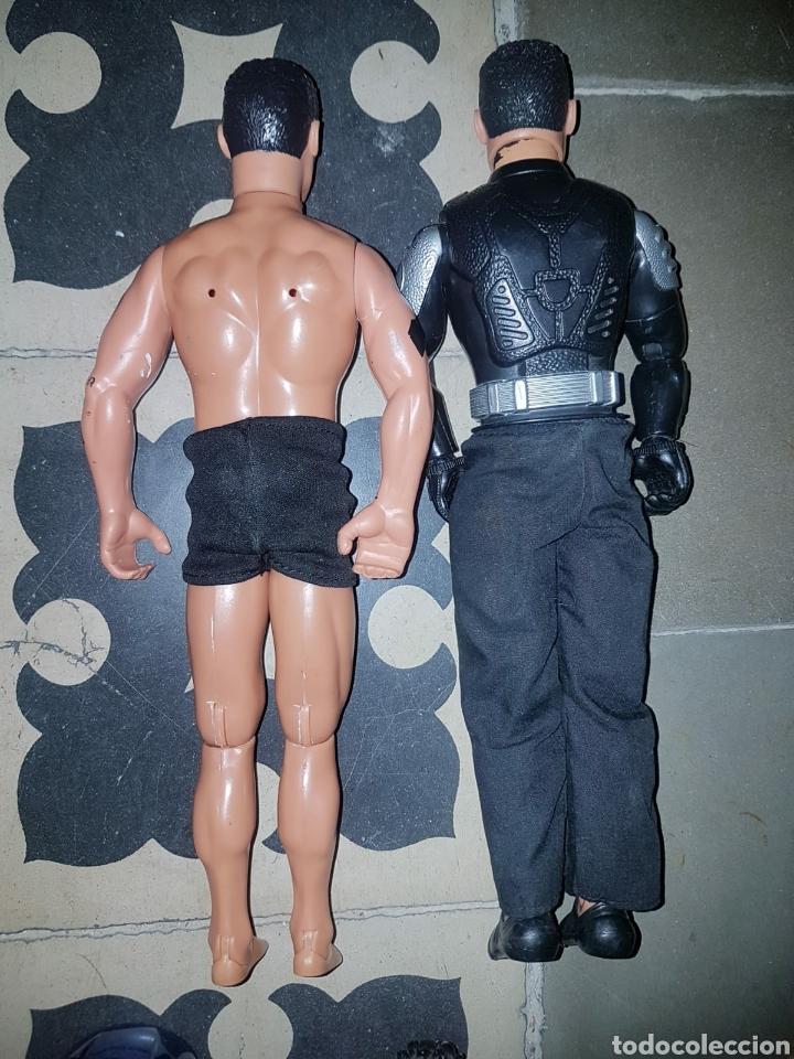 Figuras de acción: Lote 18 muñecos de acción Action Man Hasbro, Geyperman, Power Team (1998/2006) - Foto 11 - 178810285