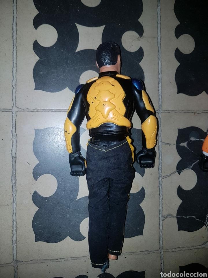 Figuras de acción: Lote 18 muñecos de acción Action Man Hasbro, Geyperman, Power Team (1998/2006) - Foto 14 - 178810285