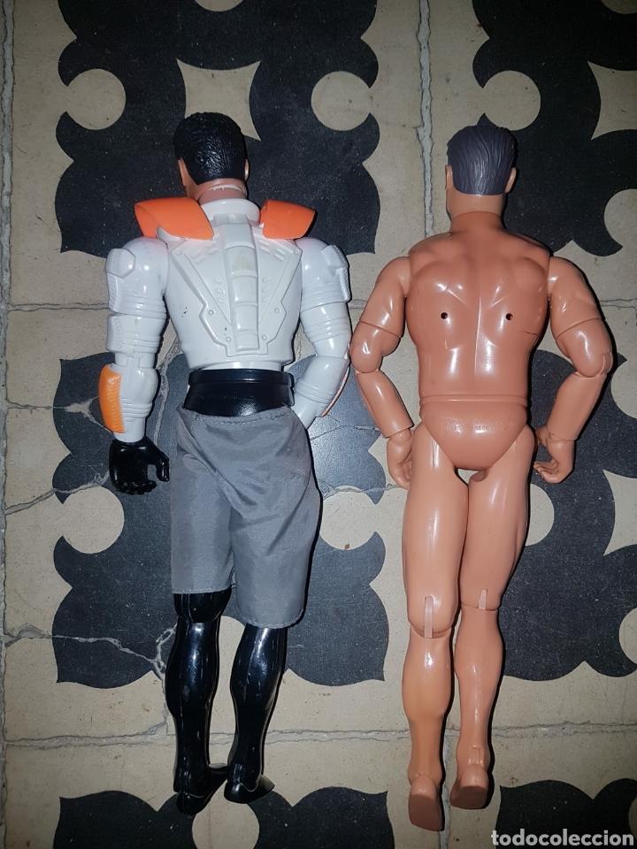 Figuras de acción: Lote 18 muñecos de acción Action Man Hasbro, Geyperman, Power Team (1998/2006) - Foto 16 - 178810285