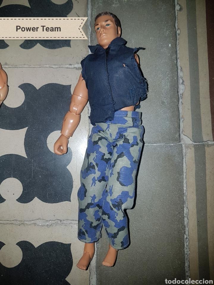 Figuras de acción: Lote 18 muñecos de acción Action Man Hasbro, Geyperman, Power Team (1998/2006) - Foto 19 - 178810285