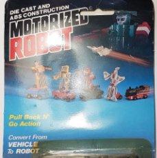 Figuras de acción: MOTORIZED ROBOT MC TOY. Lote 145325482