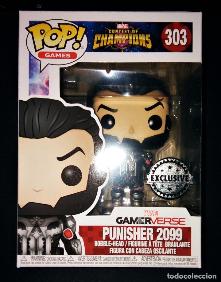 Punisher 2099 US Exclusive Pop Contest of Champions Vinyl Figure NEW Funko