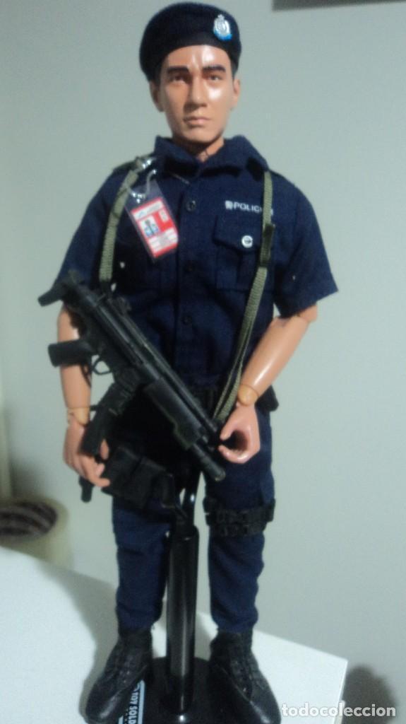 ESCALA 1/6 POLICIA (Juguetes - Figuras de Acción - Otras Figuras de Acción)