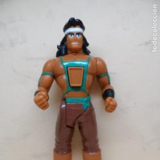 Figuras de acción: FIGURA KARATE FIGHTERS THUNDERFOOT 1994 MB. Lote 148519230