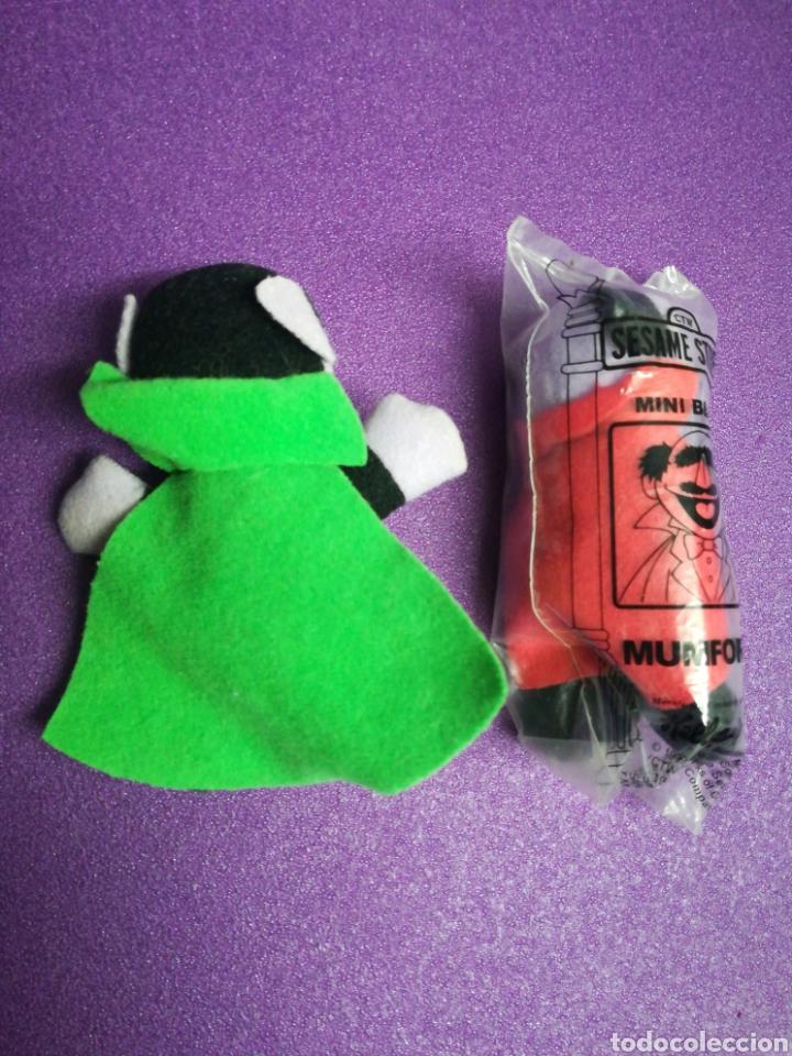 Figuras de acción: Conde Draco y Mumford de Barrio Sésamo Mini Beans - Foto 2 - 149725217