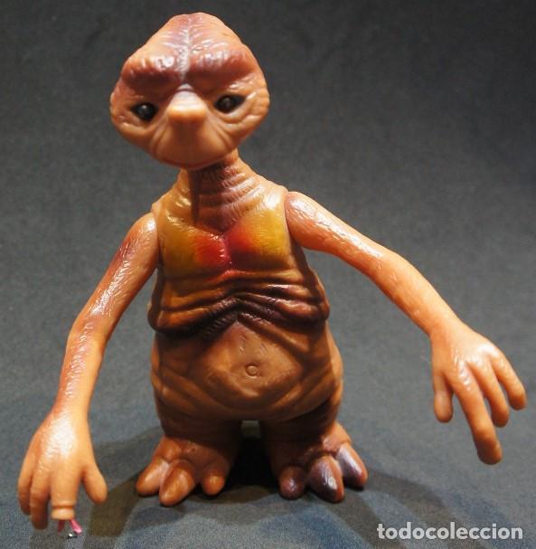 Figuras de acción: ET el Extraterrestre. Muñeco articulado de PVC. Años 80. - Foto 3 - 150040034