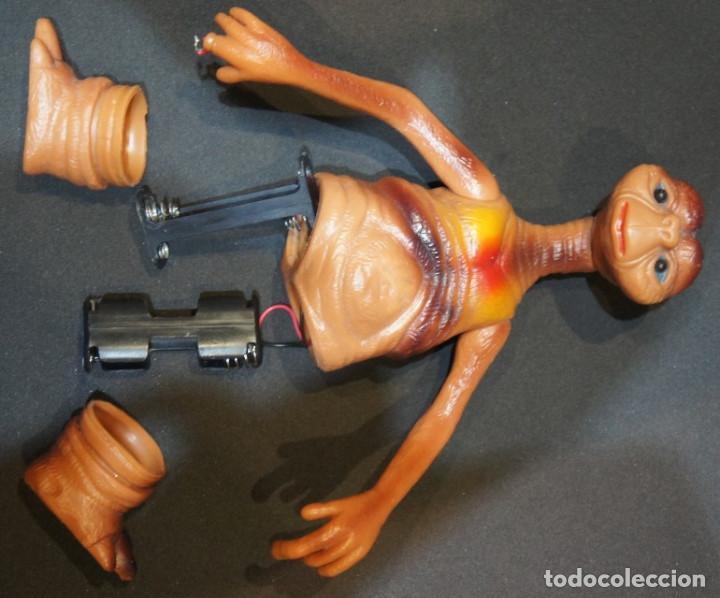 Figuras de acción: ET el Extraterrestre. Muñeco articulado de PVC. Años 80. - Foto 10 - 150040034