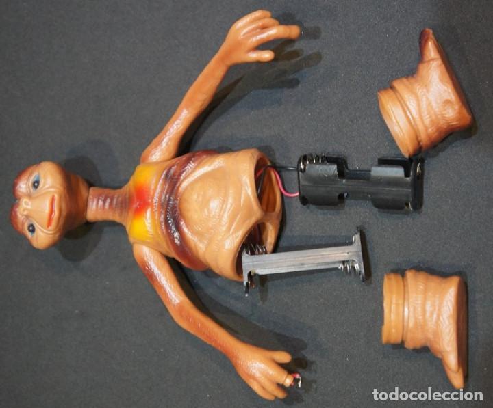 Figuras de acción: ET el Extraterrestre. Muñeco articulado de PVC. Años 80. - Foto 11 - 150040034