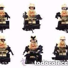 Figuras de acción: 6 FIGURAS DE SOLDADOS (NUEVO) LOTE 3. Lote 151516518