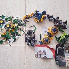 Figuras de acción: LOTE PIEZAS MEGABLOKS NEO-SHIFTER ROBOT TRANSFORMERS GRANJA TRACTOR DRAGON. Lote 151763226
