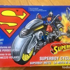 Figuras de acción: SUPERMAN CYCLE AÑO 1996. Lote 154262534