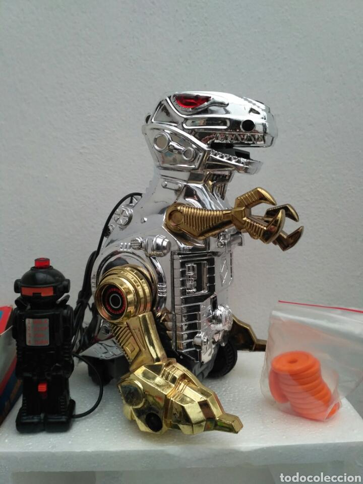 SPACE DINOSAUR MOTU KO BOOTLEG ROBOT DINOSAURIO T REX (Juguetes - Figuras de Acción - Otras Figuras de Acción)