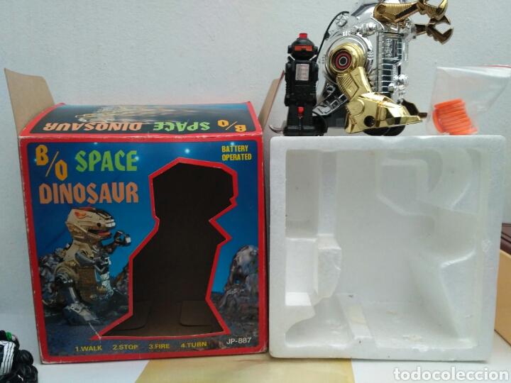 Figuras de acción: Space dinosaur motu ko bootleg robot dinosaurio t rex - Foto 2 - 155843286