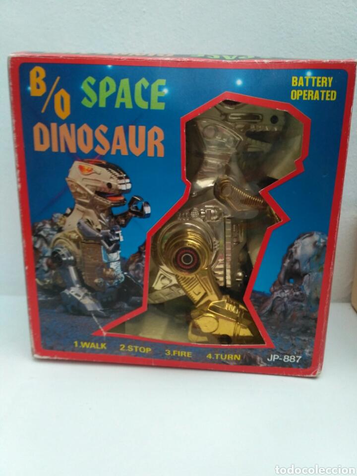 Figuras de acción: Space dinosaur motu ko bootleg robot dinosaurio t rex - Foto 4 - 155843286
