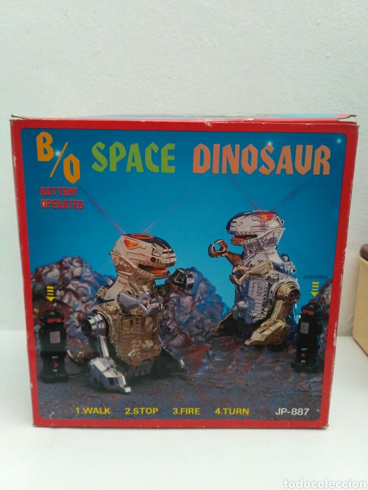 Figuras de acción: Space dinosaur motu ko bootleg robot dinosaurio t rex - Foto 5 - 155843286