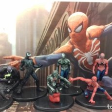 Figuras de acción: SET 9 FIGURAS SPIDERMAN ( SUPERHEROES ). Lote 156469242