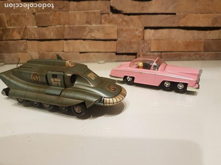 Figuras de acción: Réplicas de los autos de las Series TV de Gerry Anderson,Thunderbird Penélope y El Capitán Escarlata - Foto 2 - 156569198