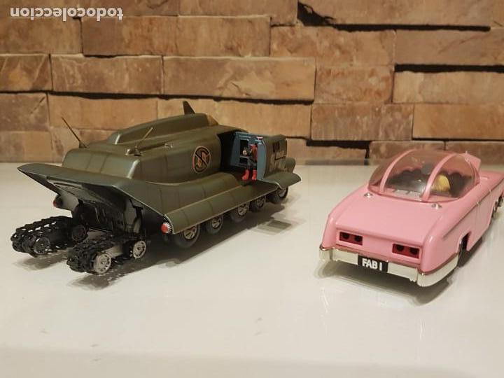 Figuras de acción: Réplicas de los autos de las Series TV de Gerry Anderson,Thunderbird Penélope y El Capitán Escarlata - Foto 3 - 156569198