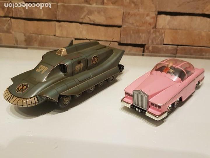 Figuras de acción: Réplicas de los autos de las Series TV de Gerry Anderson,Thunderbird Penélope y El Capitán Escarlata - Foto 4 - 156569198