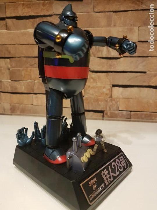 Figuras de acción: Cogokin Gx-24 Tetsujin 28 Figura de Acción Bandai Tamashii - Foto 3 - 156569350