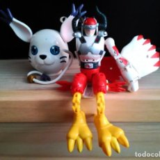 Figuras de acción: FIGURA DIGIMON SYLPHIMON TRANSFORMABLE AQUILAMON. Lote 156830490