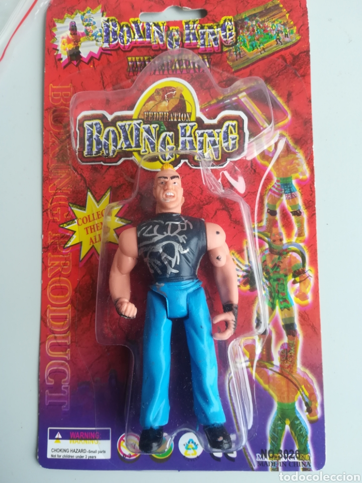 Figuras de acción: Figura acción boxing king federation motu bootleg luchador fighter - Foto 1 - 157364120