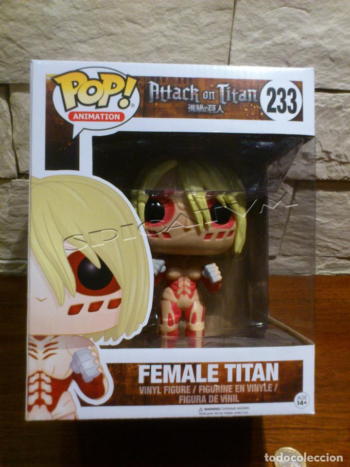 233 Female Titan Funko Pop Animation Attack on Titan