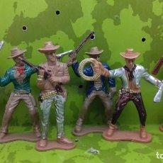 Figuras de acción: SET 5 FIGURAS VAQUEROS. Lote 159197514