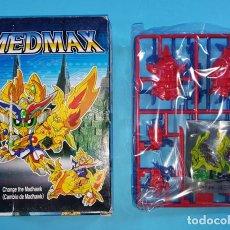 Figuras de acción: FIGURA MEDMAX CHANGE THE MADHAWK DE ESCO SIN MONTAR, CAMBIO DE MADHAWK, 15 X 11 X 3 CM, MUY RARO . Lote 159642494