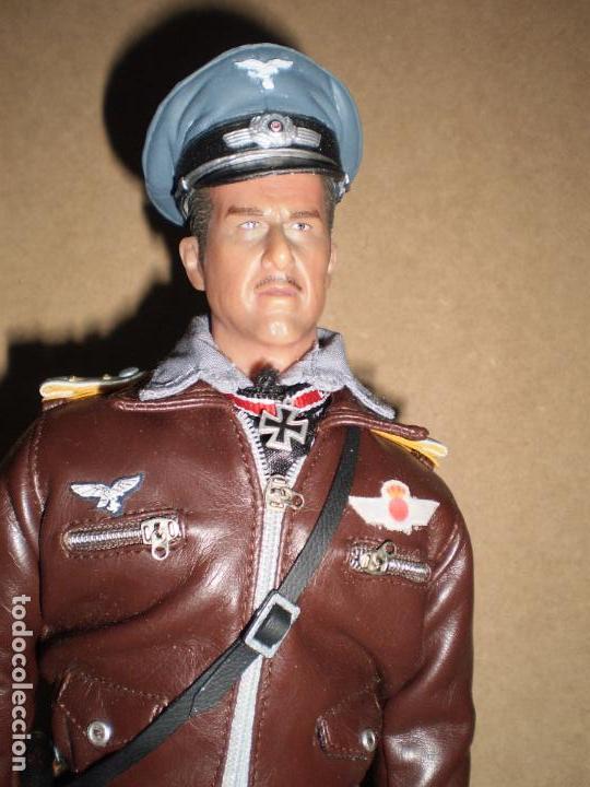 Figuras de acción: CUSTOM DRAGON OFICIAL PILOTO DE LA ESCUADRILLA AZUL ESCALA 1/6 - Foto 3 - 159751114