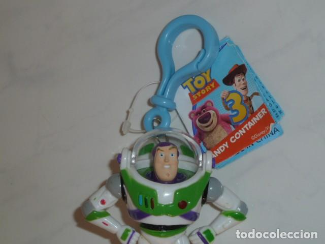Figuras de acción: Buzz Lightyear. Llavero con compartimento. Toy Story - Foto 2 - 160431494