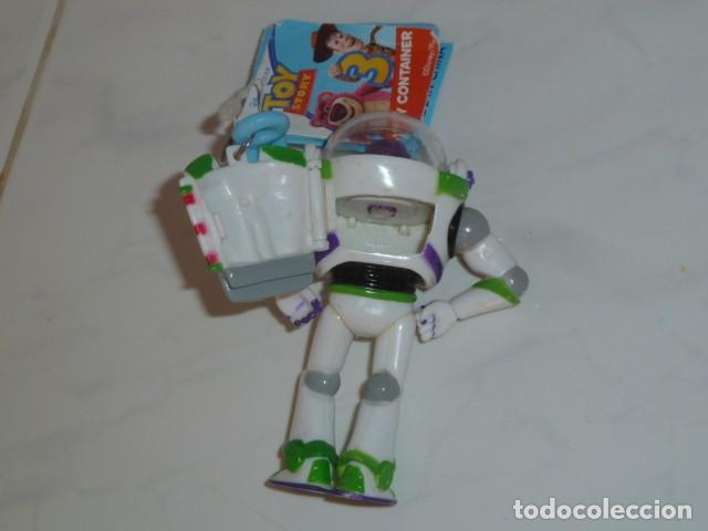 Figuras de acción: Buzz Lightyear. Llavero con compartimento. Toy Story - Foto 4 - 160431494