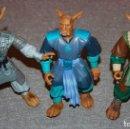 Figuras de acción: LOTE DE TRES FIGURRAS GUERREROS DE LA VIRTUD 1996. Lote 161301746