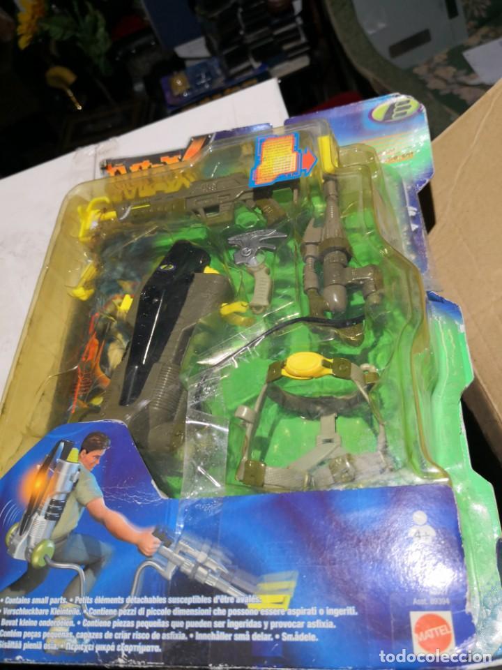Figuras de acción: Blister Accesorios armas max stell canyon raider pack misión para muñeco - Foto 4 - 162602466