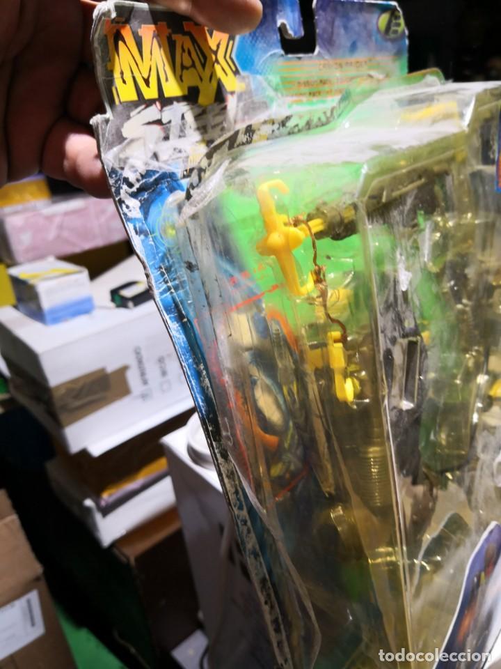Figuras de acción: Blister Accesorios armas max stell canyon raider pack misión para muñeco - Foto 5 - 162602466