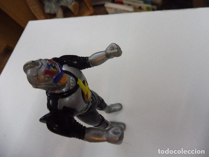 Figuras de acción: Mazinger Z soldado guerrero figura pvc articulada brazos y cintura sin marca - Foto 3 - 163086486